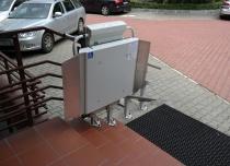 Platforma schodowa DELTA - Polskie Sieci Elektroenergetyczne, Katowice