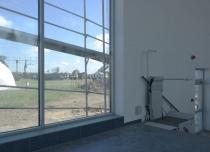 Platforma przyschodowa DELTA w Muzeum Sił Powietrznych w Dęblinie