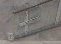 Punkt ładowania platformy na przystanku