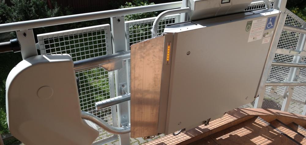 Platforma schodowa Omega F w Zakopanem - PSSE