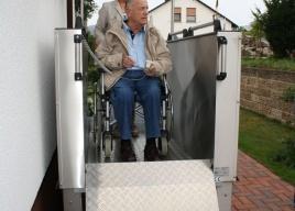 Platformy pionowe dla osób niepełnosprawnych