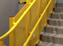 Górny bieg toru platformy schodowej